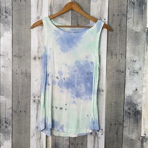 American Eagle soft and sexy tie dye tank small